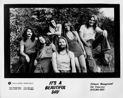 It's a Beautiful Day Promo Print