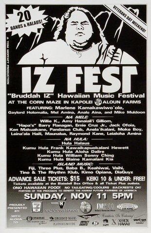IZ Fest Poster