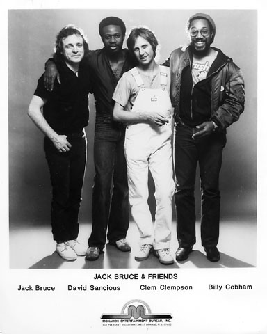 Jack Bruce and FriendsPromo Print
