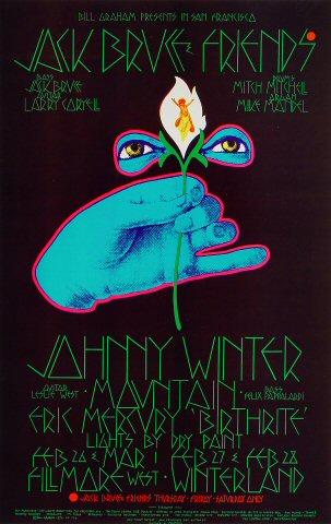 Jack Bruce Poster