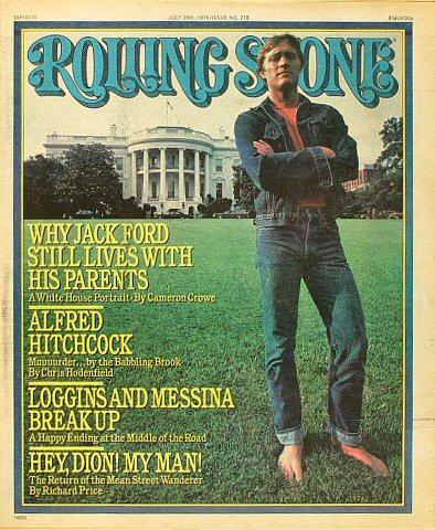 Jack FordRolling Stone Magazine
