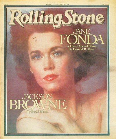 Jackson BrowneRolling Stone Magazine