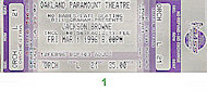 Jackson Browne Vintage Ticket