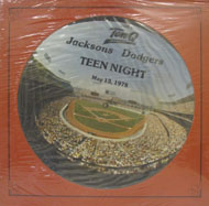 "Jacksons Dodgers Vinyl 12"" (New)"