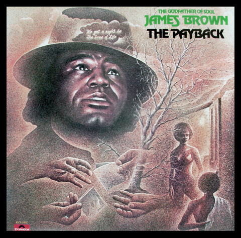 James Brown Framed Album Cover