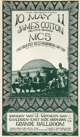 James Cotton Blues BandPostcard