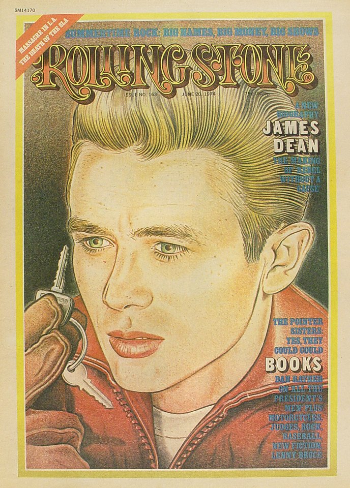 James Dean Rolling Stone Magazine