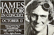 James Taylor Handbill