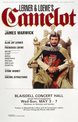 James Warwick Poster