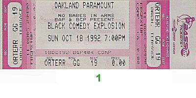 Jamie Foxx1990s Ticket
