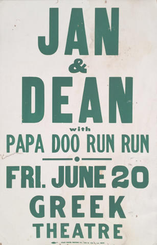 Jan and Dean Poster
