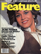 Jane Fonda Crawdaddy Magazine