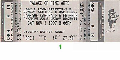 Janeane Garofalo1990s Ticket
