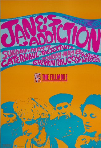Jane's Addiction Poster
