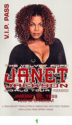 Janet Jackson Laminate