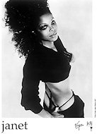 Janet Jackson Promo Print