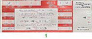 Janet Jackson Vintage Ticket