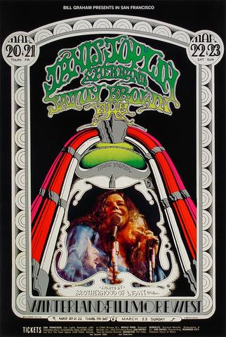 Janis Joplin Poster