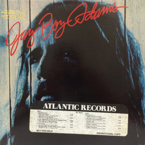 Jay Boy Adams Vinyl (Used)