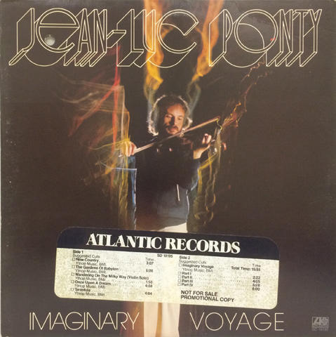 Jean-Luc Ponty Vinyl (Used)
