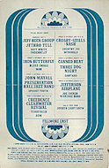 Crosby, Stills & Nash Handbill