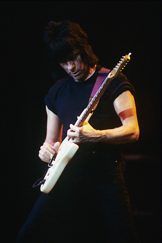 Jeff Beck BG Archives Print