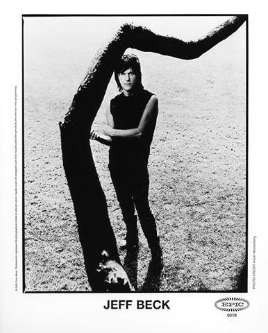 Jeff Beck Promo Print