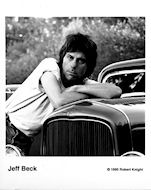 Jeff Beck Promo Print