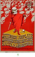 Jefferson Airplane 1970s Ticket