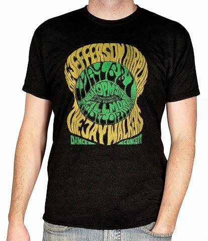 Jefferson Airplane Men's Retro T-Shirt
