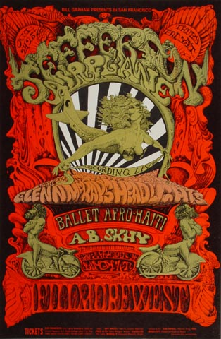Jefferson Airplane Postcard
