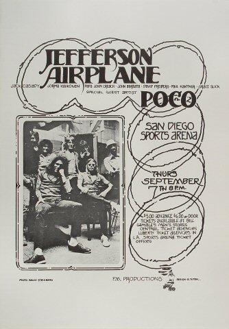Jefferson Airplane Poster