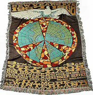 Jefferson Airplane Retro Afghan