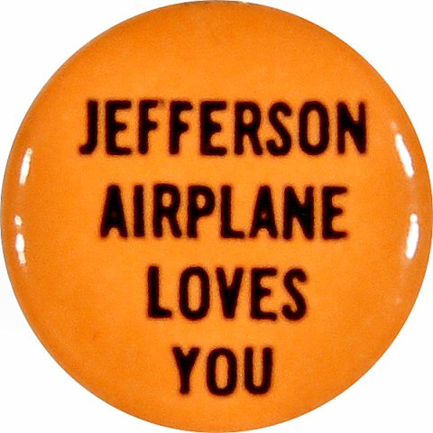 Jefferson AirplaneRetro Pin