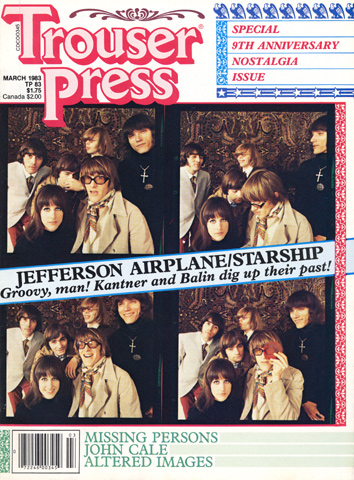 Jefferson Airplane Trouser Press Magazine