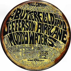 Jefferson Airplane Vintage Pin
