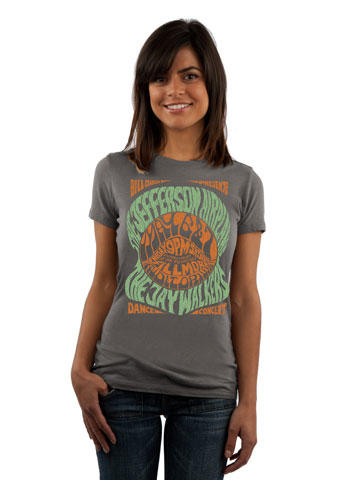 Jefferson Airplane Women's Retro T-Shirt