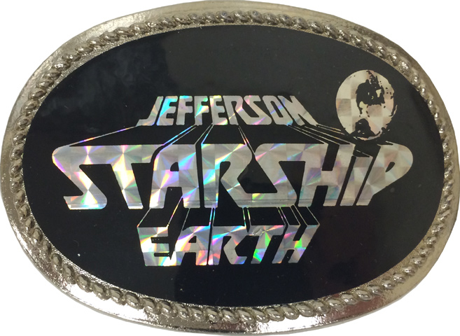 Jefferson Starship Belt Buckle