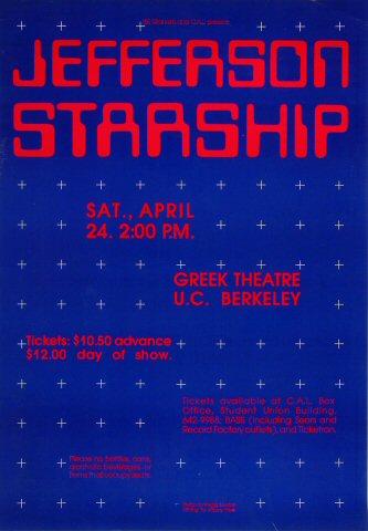 Jefferson StarshipPoster