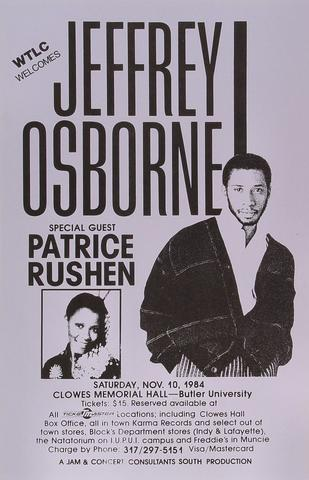 Jeffrey Osborne Poster