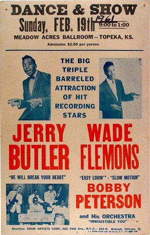 Jerry ButlerPoster