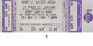 Jerry Garcia Band 1990s Ticket