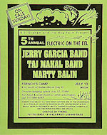 Jerry Garcia Band Handbill