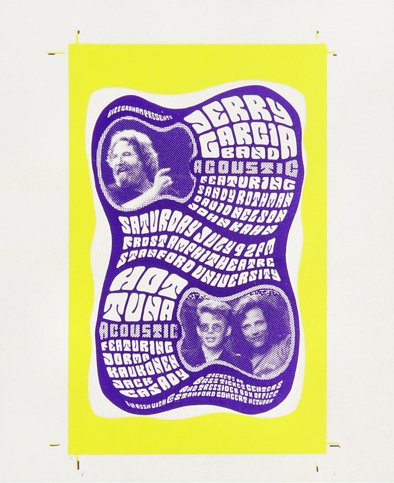 Jerry Garcia BandLaminate