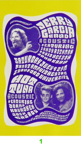 Jerry Garcia Band Laminate