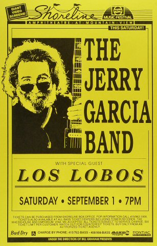 Jerry Garcia Band Poster