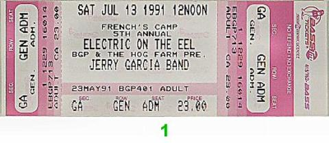 Marty Balin Vintage Ticket