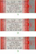 Jerry Garcia 1980s Ticket