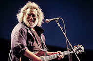 Jerry Garcia BG Archives Print