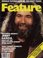 Jerry Garcia Crawdaddy Magazine